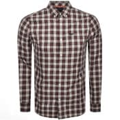 Product Image for Superdry Long Sleeved Check Shirt Black